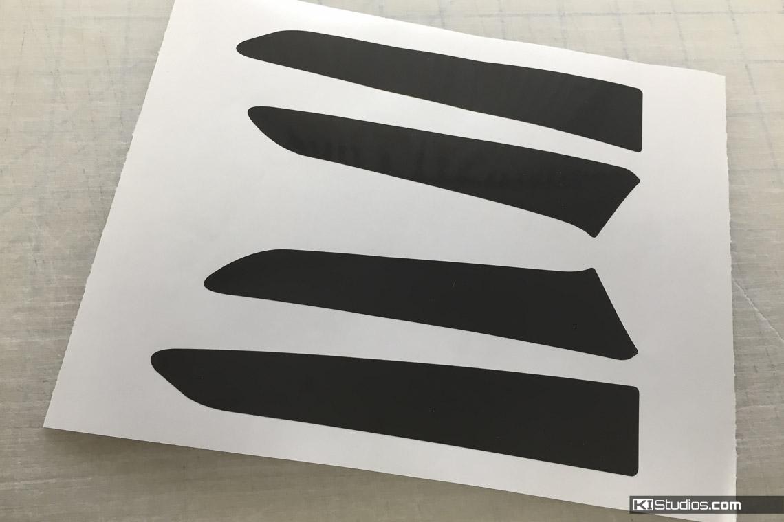 Lamborghini Huracan Decals Side Marker Blackout Tint Kit