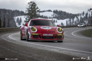 Porsche Salzburg Livery White on Red - Gold Rush Rally 9