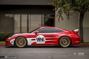 Porsche 991 GT3 Salzburg Livery - KI Studios