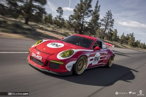Porsche Salzburg Livery White on Red