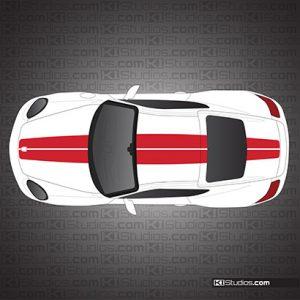 Porsche 911 Exclusive Edition Stripes for Porsche 987 Cayman
