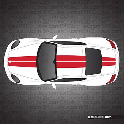 Porsche 911 Exclusive Edition Stripes for Porsche 987 Cayman