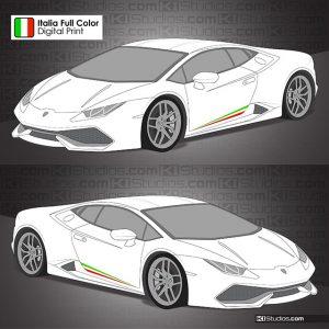 Lamborghini Huracan Peformante Style Stripe - KI Studios