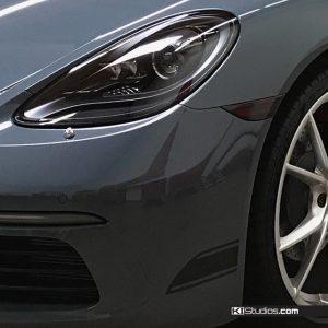Porsche 718 Cayman Side Marker Blackout Tint
