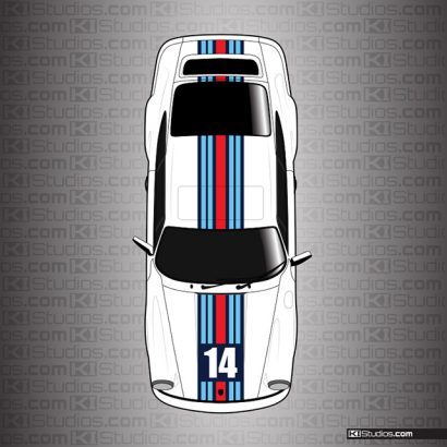 Porsche 964 Stripe Kit 001 - KI Studios