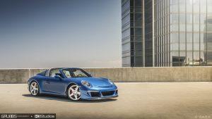 Porsche 991 Targa 4S RUF - Blue Sapphire Metallic