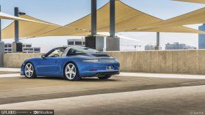 Porsche 991 Targa 4S RUF - Blue Sapphire Metallic by KI Studios
