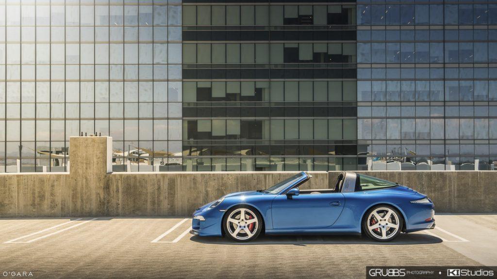 RUF Porsche 991 Targa Side Shot