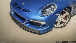 Porsche 991 Targa 4S RUF Close Up