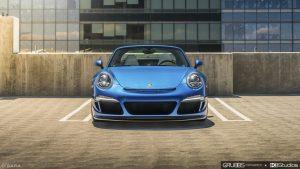 Porsche 911 Targa 4S RUF Front Shot