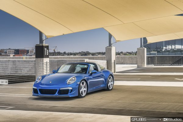 Porsche 991 Targa 4S RUF Protected with SunTek Ultra PPF