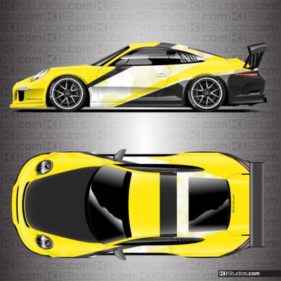 Tryst Porsche Racing Livery - Porsche 911 Cup Car