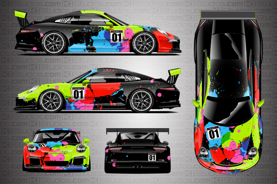 Simple Car Livery Design