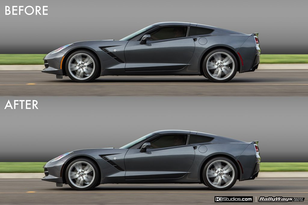 Corner Marker Blackout Tint Kit for the Corvette C7 Stingray, Grand Sport and Z06.
