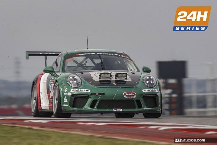 Freem Porsche 911 GT3 Cup at Circuit of the Americas
