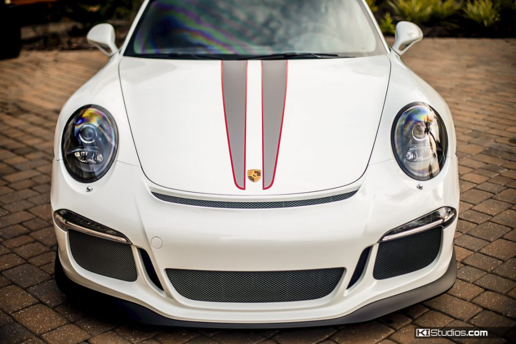 Porsche 911 GT3 Hood Stripes by KI Studios