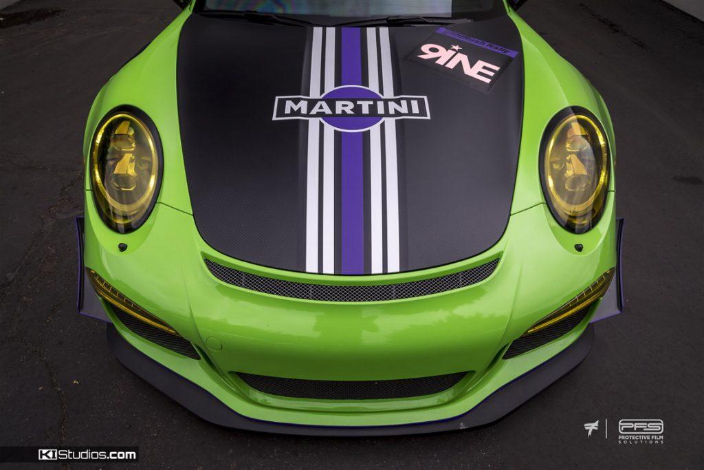 Porsche 991 GT3 RS Martini