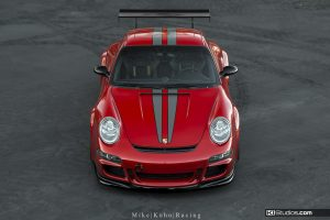 Porsche 997 GT3 with Scuderia Stripes