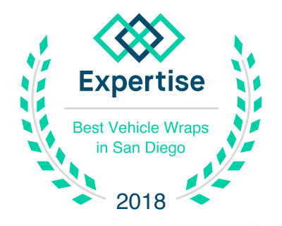 Best Vehicle Wraps in San Diego 2016 Badge
