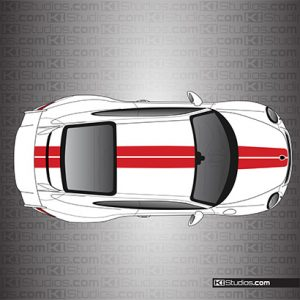 Porsche 991 GT3 Exclusive Stripes by KI Studios