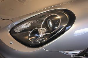Porsche 981 Boxster Headlight Black Trim