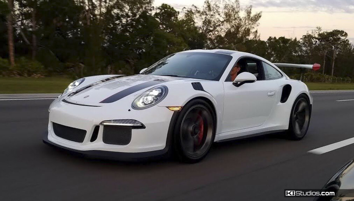 Rolling Porsche 991 GT3 RS with KI Studios 911R Stripes
