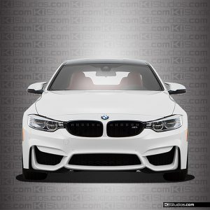 BMW M4 Headlight Film Clear Self-Healing Protection by KI Studios