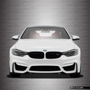 BMW M4 Headlight Film Light Smoke - KI Studios