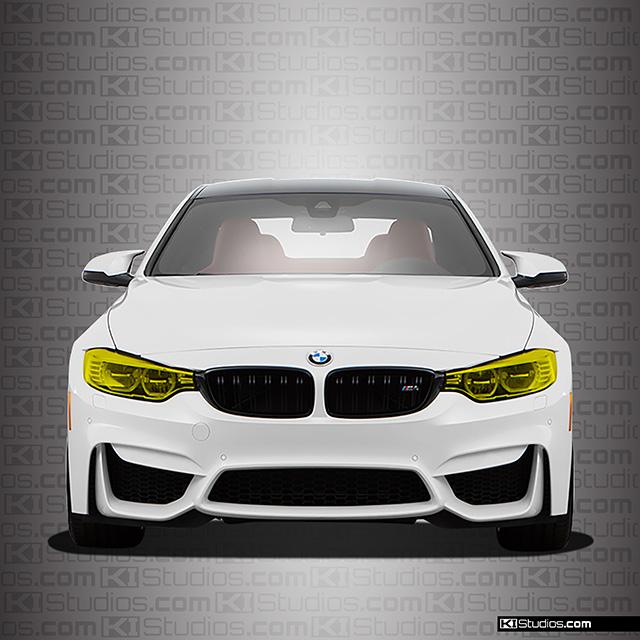BMW M4 Headlight Film