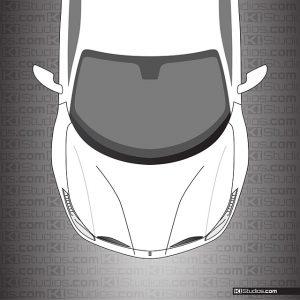 Ferrari 488 GTB Clear Headlight Protection Film