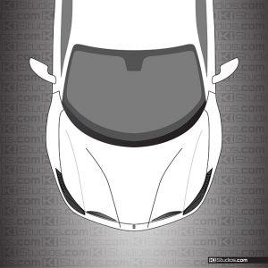 Ferrari 488 GTB Dark Headlight TInt by KI Studios