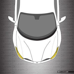 Ferrari 488 GTB Yellow Headlights