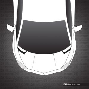 Lamborghini Aventador Headlight Film for Protection by KI Studios