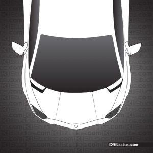 Dark Smoke Tint Lamborghini Aventador Headlights by KI Studios