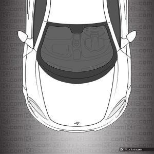 McLaren 650S Headlight Film