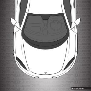 McLaren 650S Headlight Tint by KI Studios