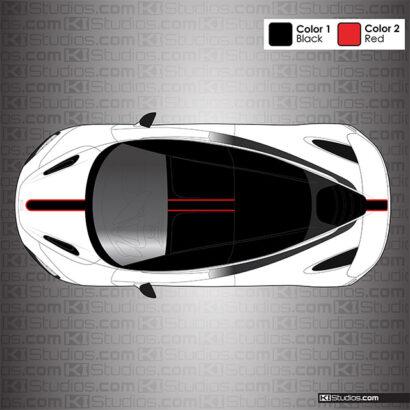McLaren 720S Stripe Kit 001 by KI Studios
