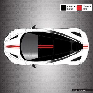 McLaren 720S Stripe Kit 002 Single Color