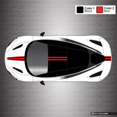 McLaren 720S Stripe Kit 003 by KI Studios