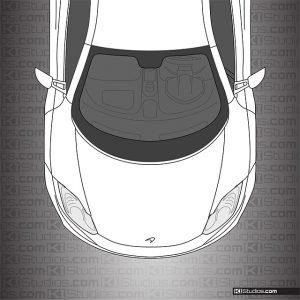 McLaren MP4-12C Clean Headlight Protection Film by KI Studios