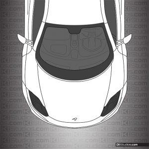 McLaren MP4-12C Headlight Tint and Protection - Dark Smoke