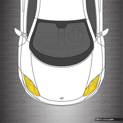 McLaren MP4-12C Yellow Headlights Film by KI Studios
