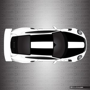 Porsche 911 GT2 RS Style Stripes for Porsche 991 GT3 RS by KI Studios