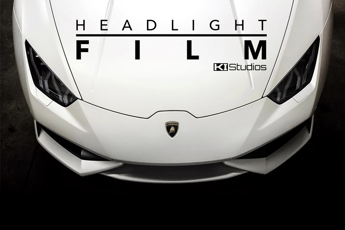 KI Studios Headlight Protection Film