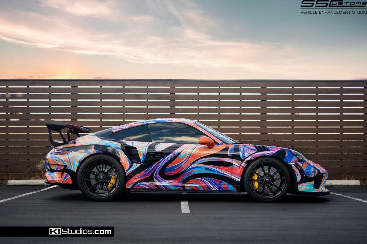GROOVY Porsche GT3 RS Livery Wrap