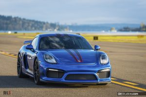 Porsche 981 Cayman GT4 KI Studios Stripes