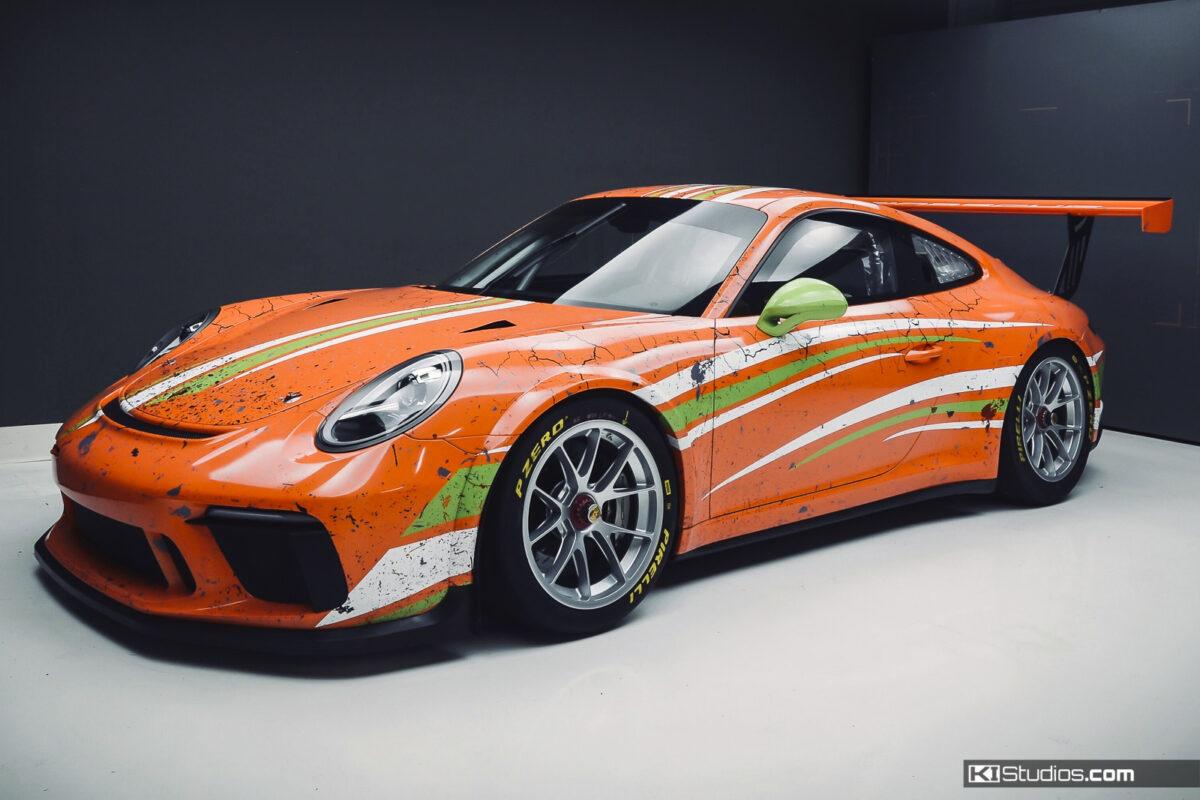 KI Studios Custom Racing Livery for Porsche - Arid