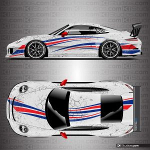 Porsche 991 GT3 Cup Arid Livery by KI Studios