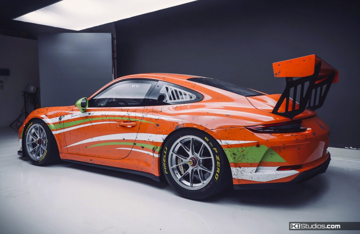 Race Car Weathered Livery by KI Studios - Arid Racing Wrap