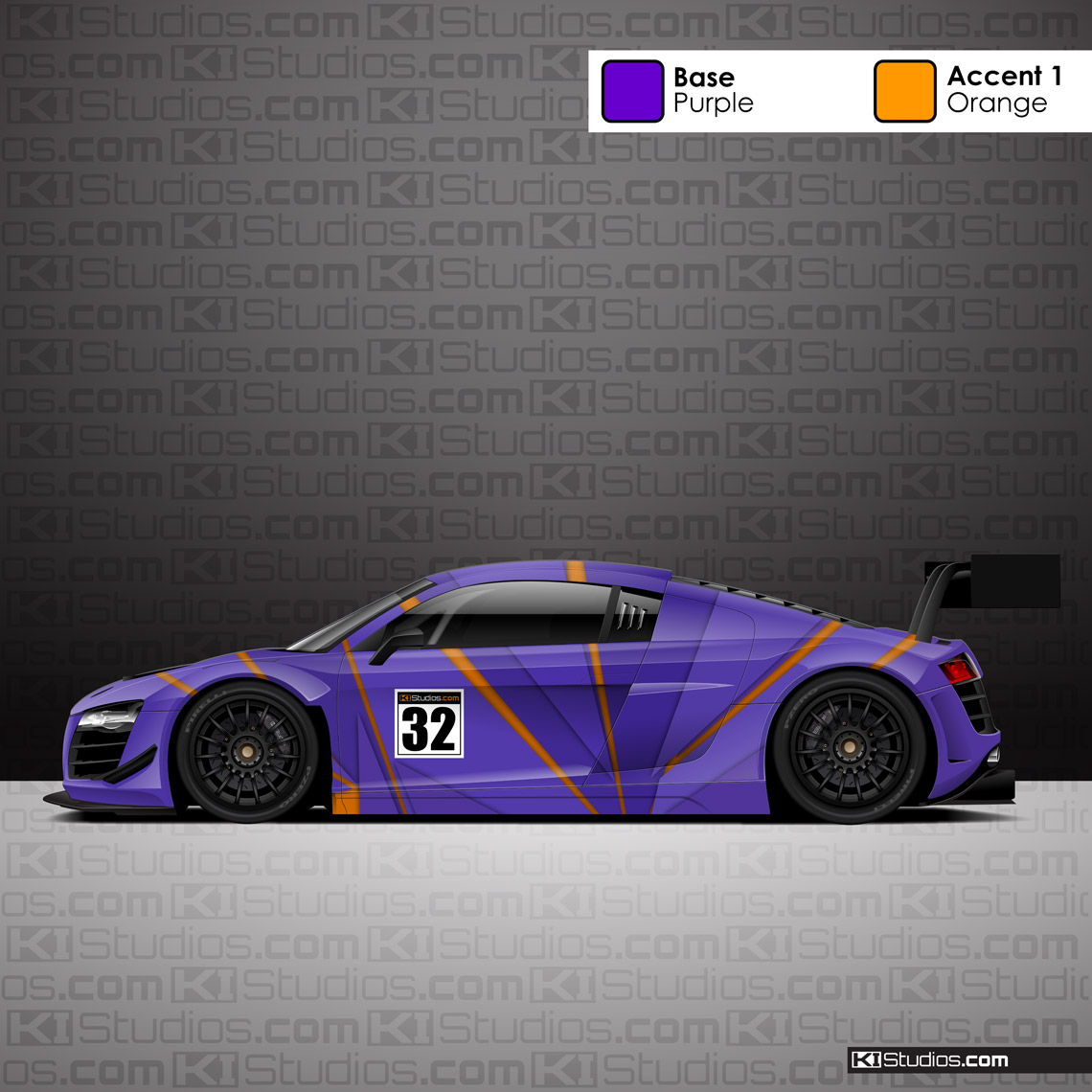 Racing Livery Performance Car Wrap - Rift